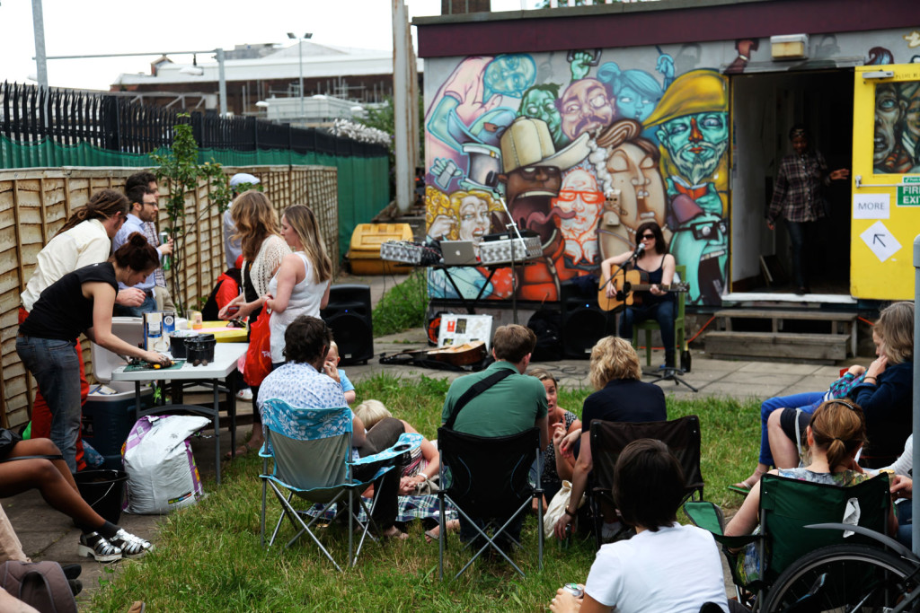 Open-Studios-Summer-2014-Outside-Music